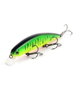 Hard strike fishing lures with 3 Hooks 13 cm
