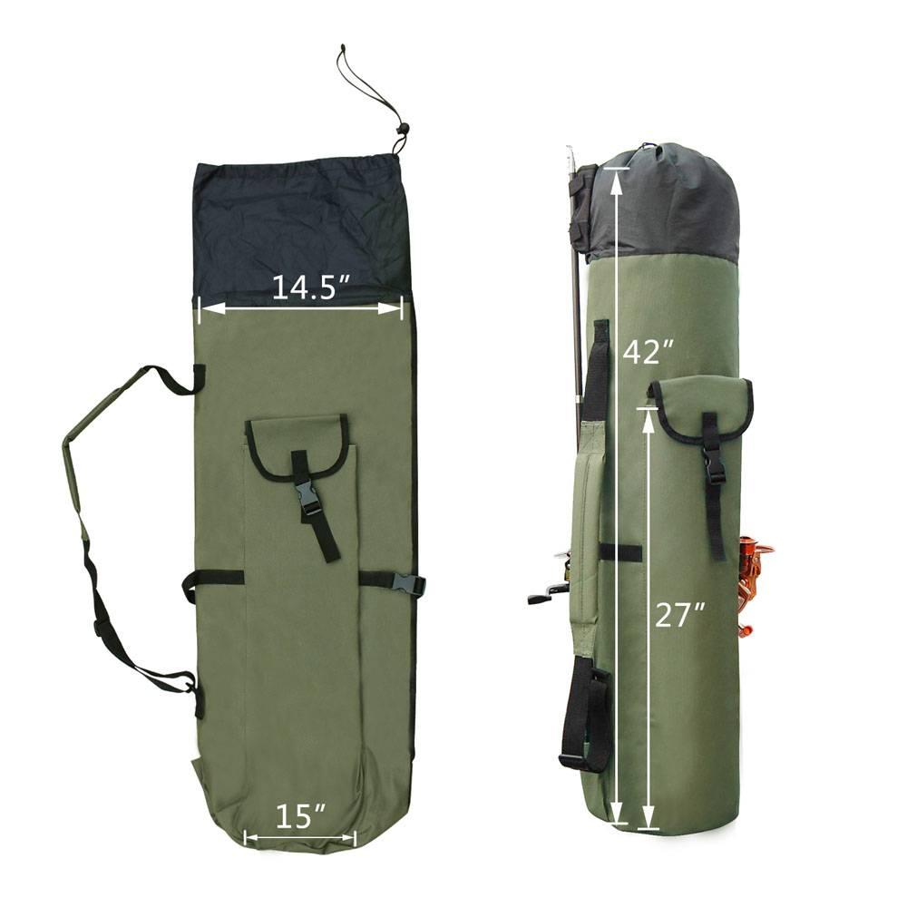 Fishing Portable Nylon fishing bags walmart
