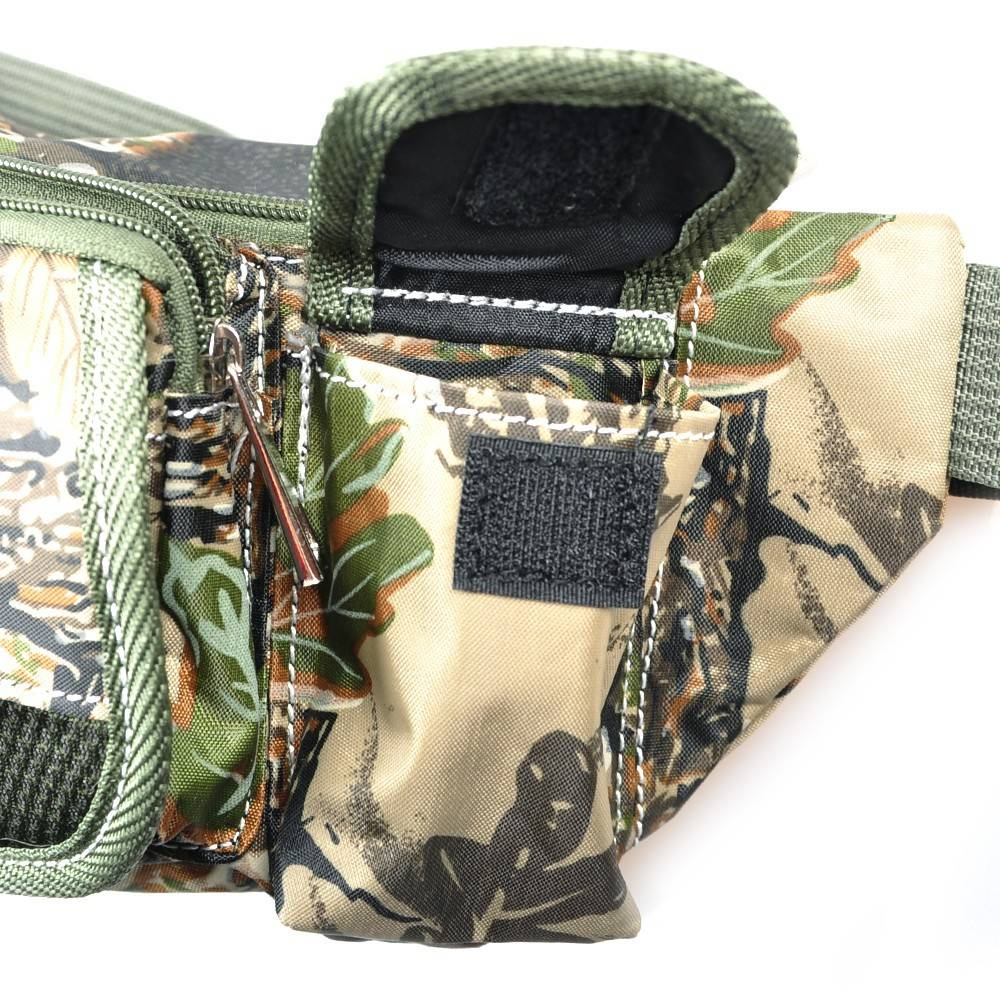 Army Green Camouflage Fishing Tools Bag