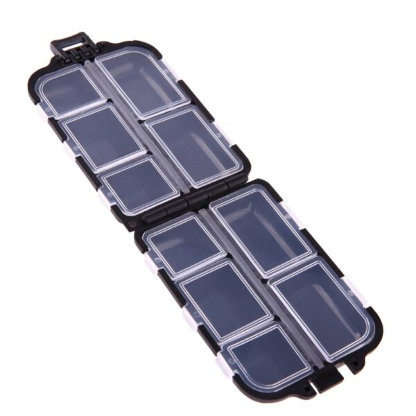 Small Box for Fishing Lures and Hooks Fishing Accessories Fishing Tackle Boxes