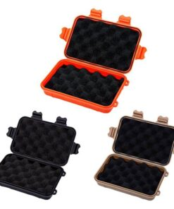 Outdoor Survival Storage Box Fishing Accessories Fishing Tackle Boxes cb5feb1b7314637725a2e7: Black|Brown|Orange