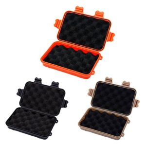 Outdoor Survival Storage Box Fishing Accessories Fishing Tackle Boxes cb5feb1b7314637725a2e7: Black|Brown|Orange
