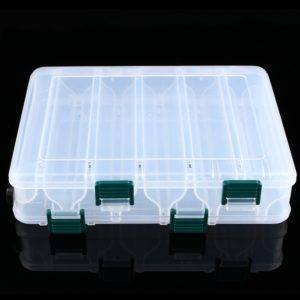 Plastic Fishing Lure Case Fishing Accessories Fishing Tackle Boxes cb5feb1b7314637725a2e7: Clear
