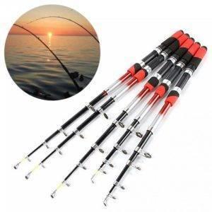 Portable Telescopic CNC Aluminum big fishing rods