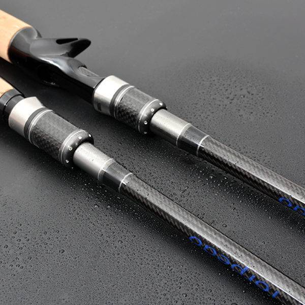 Long Carbon Fiber Spinning & Casting Rod with Case Fishing Rods a1fa27779242b4902f7ae3: Casting|Spinning