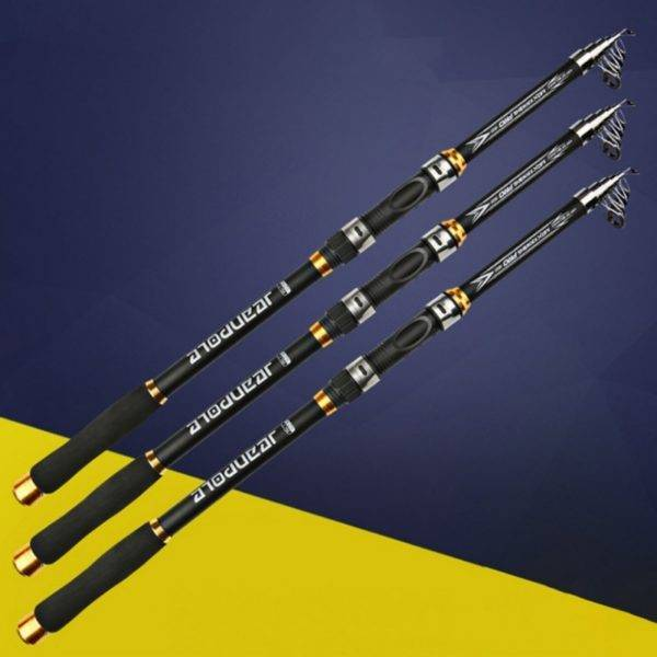 Hard FRP Carbon Fiber Fishing rods and reels for sale