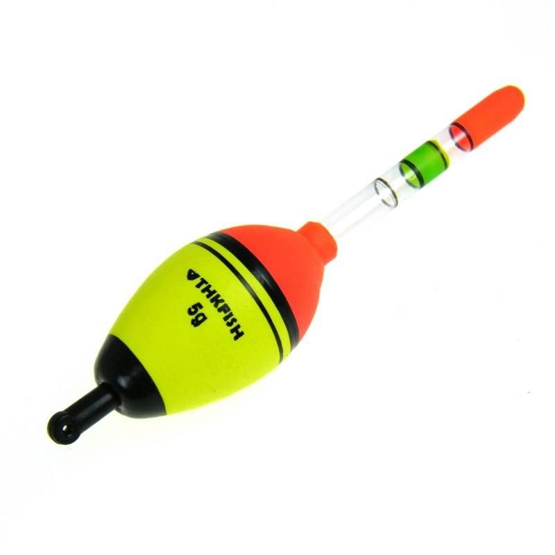 Mini Fluorescent Fishing Floats Pair