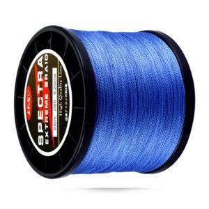 Super Strong PE Braided Fishing Line 10-80 LB Fishing Lines cb5feb1b7314637725a2e7: Blue Clear Dark grey Green Red Yellow