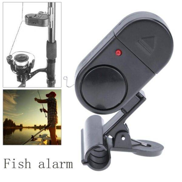 Sensitive Digital Bite Alarm Indicator Fishing Accessories cb5feb1b7314637725a2e7: Black
