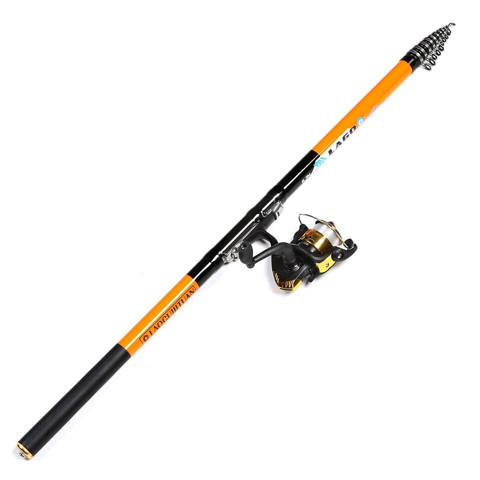 Telescopic Long Carbon Fiber Fishing Rod