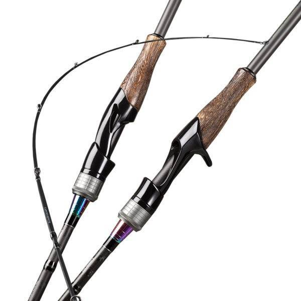 Universal Flexible Fishing Rod with Wooden Handle Fishing Rods cb5feb1b7314637725a2e7: Blue|Burgundy|Green|Light Grey|Purple|Red|White|Yellow