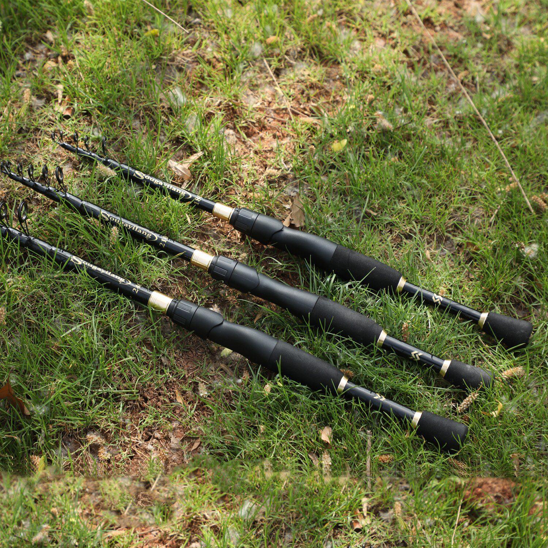 Ultralight Telescopic Spinning Fishing Rod