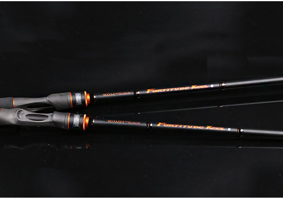 3-Section Spinning and Casting Fishing Rod